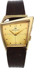 Timepieces:Wristwatch, Hamilton Scarce Flight II Wristwatch, circa 1960. ...