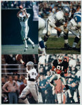 Autographs:Photos, Oakland Raiders Football Greats Signed Oversized PhotographCollection (10).... (Total: 10 item)