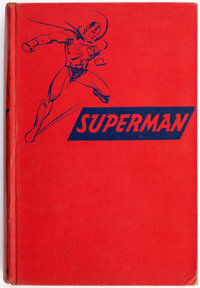 The Adventures of Superman Hardcover Book (Random House, 1942) Condition: FN