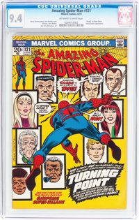 The Amazing Spider-Man #121 (Marvel, 1973) CGC NM 9.4 Off-white to white pages