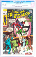 Bronze Age (1970-1979):Superhero, The Amazing Spider-Man #91 (Marvel, 1970) CGC NM- 9.2 Off-white to white pages....