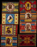 Non-Sport Cards:General, Circa 1912 B12 Type 1 & 4 Native American Blankets Collection(14). ...
