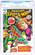 Bronze Age (1970-1979):Superhero, The Amazing Spider-Man #85 (Marvel, 1970) CGC NM- 9.2 White pages....
