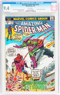 The Amazing Spider-Man #122 (Marvel, 1973) CGC NM 9.4 White pages