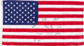 """Basketball Collectibles:Others, 1992 American Flag Signed by USA Olympic Basketball """"Dream Team""""from Team Employee.. ..."""