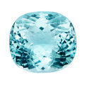 "Gems:Faceted, Gemstone: ""Paraíba Type"" Tourmaline - 49.58 Cts.. Nigeria...."