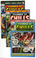 Bronze Age (1970-1979):Horror, Chamber of Chills #1-13 Group (Marvel, 1972-74) Condition: AverageFN/VF. This group includes # 1, 2 (first comic book appea... (13Comic Books)