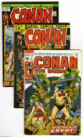 Bronze Age (1970-1979):Miscellaneous, Conan the Barbarian Group (Marvel, 1971-77) Condition: Average FN+.This lot consists of issues #8, 12, 17, 19, 20, 21, 22, ... (52Comic Books)
