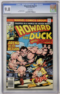 Bronze Age (1970-1979):Humor, Howard the Duck #5 (Marvel, 1976) CGC NM/MT 9.8 White pages....