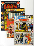 Bronze Age (1970-1979):Miscellaneous, DC Bronze Age Box Lot (DC, 1970s) Condition: Average VG+. Thisshort box consists of approximately 65 bagged and boarded Bro...