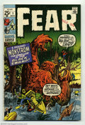 Bronze Age (1970-1979):Horror, Fear #1 (Marvel, 1970). Giant size. Jack Kirby reprints. This bookcould not be encapsulated due to an overhang. Overstreet ...