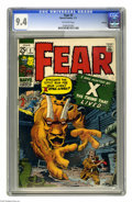 Bronze Age (1970-1979):Horror, Fear #2 Oakland pedigree (Marvel, 1971) CGC NM 9.4 Off-white pages.Jack Kirby cover. Kirby, Steve Ditko, Don Heck, and Paul...