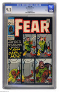 Bronze Age (1970-1979):Horror, Fear #5 Oakland pedigree (Marvel, 1971) CGC NM- 9.2 Off-whitepages. Jack Kirby cover. Overstreet 2005 NM- 9.2 value = $32. ...