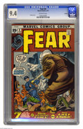 Bronze Age (1970-1979):Horror, Fear #6 Oakland pedigree (Marvel, 1972) CGC NM 9.4 Off-white pages.Gil Kane cover. This is currently the highest grade awar...