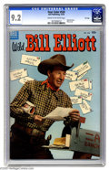Golden Age (1938-1955):Miscellaneous, Four Color #520 Wild Bill Elliott File Copy (Dell, 1953) CGC NM-9.2 Cream to off-white pages. Photo front and back covers. ...