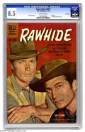 Silver Age (1956-1969):Western, Four Color #1097 Rawhide File Copy (Dell, 1960) CGC VF+ 8.5Off-white pages. Photo cover featuring Clint Eastwood; Russ Mann...