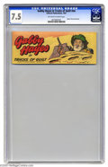 Golden Age (1938-1955):Western, Gabby Hayes in Tracks of Guilt #nn (Fawcett, 1951) CGC VF- 7.5Off-white to white pages. Small-size Quaker Oats promotional ...