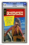 Bronze Age (1970-1979):Western, Gunsmoke #6 File Copy (Gold Key, 1970) CGC NM 9.4 Off-white to white pages. Photo cover. Overstreet 2005 NM- 9.2 value = $45...