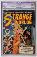 Golden Age (1938-1955):Science Fiction, Strange Worlds #4 Bethlehem pedigree (Avon, 1951) CGC Apparent FN+6.5 Slight (A) Cream to off-white pages....
