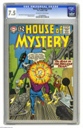 Silver Age (1956-1969):Science Fiction, House of Mystery #129 (DC, 1962) CGC VF- 7.5 Off-white to white pages. Mort Meskin and George Roussos cover. Meskin, Roussos...