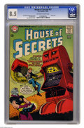Silver Age (1956-1969):Science Fiction, House of Secrets #67 (DC, 1964) CGC VF+ 8.5 Off-white to white pages. Alex Toth robot cover. Toth and Mort Meskin art. Overs...