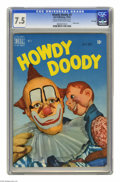 Golden Age (1938-1955):Humor, Howdy Doody #3 File Copy (Dell, 1950) CGC VF- 7.5 Cream to off-white pages. Photo cover. Overstreet 2005 VF 8.0 value = $177...