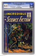 Golden Age (1938-1955):Science Fiction, Incredible Science Fiction #31 (EC, 1955) CGC VF+ 8.5 White pages.Jack Davis cover. Interior art by Wally Wood, Al Williams...