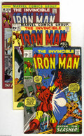 Bronze Age (1970-1979):Superhero, Iron Man Group (Marvel, 1971-74) Condition: Average VF+. Nineteen-issue lot includes #41 (George Tuska cover and art), 43 (G... (19 Comic Books)