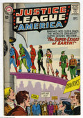 Silver Age (1956-1969):Superhero, Justice League of America #19 (DC, 1963) Condition: VG. Doctor Destiny appearance. Murphy Anderson cover, Mike Sekowsky art....