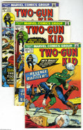 Bronze Age (1970-1979):Western, Marvel Westerns Group (Marvel, 1973-78) Condition: Average FN. Twenty three-issue lot includes Two-Gun Kid #113, 115, 11... (23 Comic Books)