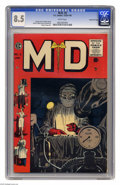 Golden Age (1938-1955):Miscellaneous, M.D. #5 Gaines File pedigree 4/12 (EC, 1955) CGC VF+ 8.5 White pages. Johnny Craig cover. George Evans, Graham Ingels, Reed ...