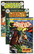 Bronze Age (1970-1979):Horror, Miscellaneous Bronze Age Group (Various, 1973-75) Condition:Average VG/FN. A copy of Tomb of Dracula #10 (FN; the first... (16Comic Books)