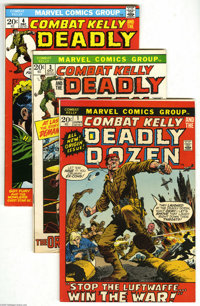 Miscellaneous Bronze Age War Comics Group (Marvel and DC, 1971-73) Condition: Average VG+. This group includes Combat Ke...