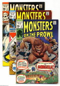 Bronze Age (1970-1979):Horror, Monsters on the Prowl Group (Marvel, 1971-73) Condition: AverageVG+. Humongous Bronze Age Marvel monster group including ... (18Comic Books)