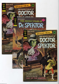 Occult Files of Doctor Spektor File Copies Box Lot (Gold Key, 1973-82) Condition: Average VF/NM. This full long box cont...