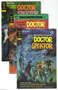 Bronze Age (1970-1979):Horror, Occult Files of Doctor Spektor File Copies Box Lot (Gold Key,1973-75) Condition: Average VF/NM. This title, which featured ...