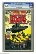 Bronze Age (1970-1979):War, Our Fighting Forces #146 (DC, 1974) CGC NM 9.4 Cream to off-white pages. Joe Kubert cover. John Severin and Alex Toth art. T...