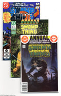 Modern Age (1980-Present):Horror, Saga of the Swamp Thing Box Lot (DC, 1982-91) Condition: AverageNM. This group starts with the first issue, includes all bu...