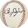 Autographs:Baseballs, Roger Clemens and Nolan Ryan Signed Baseball. Two of the mostenduring pitchers to ever climb the pitcher's mound, both Nol...