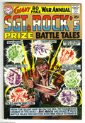 Silver Age (1956-1969):War, Sgt. Rock's Prize Battle Tales Annual #1 (DC, 1964) Condition: VG+. Joe Kubert cover. Overstreet 2005 VG 4.0 value = $66....