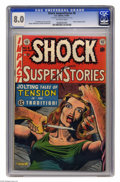 Golden Age (1938-1955):Horror, Shock SuspenStories #8 (EC, 1953) CGC VF 8.0 Off-white pages.Atomic explosion panel. Al Feldstein stories and cover. Jack K...