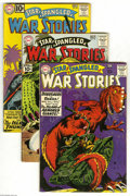 Golden Age (1938-1955):War, Star Spangled War Stories #90, 96, and 98 Group (DC, 1960-61)Condition: Average VG+. Lot of three issues from early in the ...(3 Comic Books)