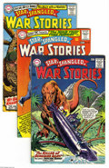 Golden Age (1938-1955):War, Star Spangled War Stories Group (DC, 1965-67) Condition: AverageFN. Six issue lot features #121, 123, 124, 132, 134, and 13... (6Comic Books)