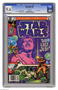 Modern Age (1980-Present):Science Fiction, Star Wars #49 (Marvel, 1981) CGC NM+ 9.6 White pages. Walt Simonsoncover and art. Overstreet 2005 NM- 9.2 value = $9. CGC c...