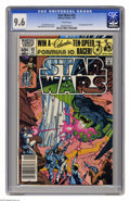 Modern Age (1980-Present):Science Fiction, Star Wars #55 (Marvel, 1982) CGC NM+ 9.6 White pages. Walt Simonsoncover and art. Overstreet 2005 NM- 9.2 value = $9. CGC c...