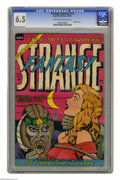 Golden Age (1938-1955):Horror, Strange Fantasy #13 (Farrell, 1954) CGC FN+ 6.5 Cream to off-whitepages. Bondage cover. Rulah (Kolah) story. This is curren...