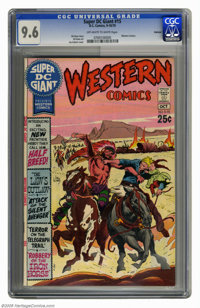 Super DC Giant #15 Oakland pedigree (DC, 1970) CGC NM+ 9.6 Off-white to white pages. Western Comics. Joe Kubert cover. G...