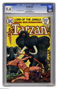 Bronze Age (1970-1979):Miscellaneous, Tarzan #229 (DC, 1974) CGC NM 9.4 Off-white to white pages. JoeKubert story, cover, and art. Overstreet 2005 NM- 9.2 value ...