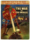 Golden Age (1938-1955):Science Fiction, The War of the Worlds #nn (Dell, 1938) Condition: FN....