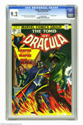 Bronze Age (1970-1979):Horror, Tomb of Dracula #21 (Marvel, 1974) CGC NM- 9.2 Off-white to whitepages. Blade appearance. John Romita Sr. cover. Gene Colan...